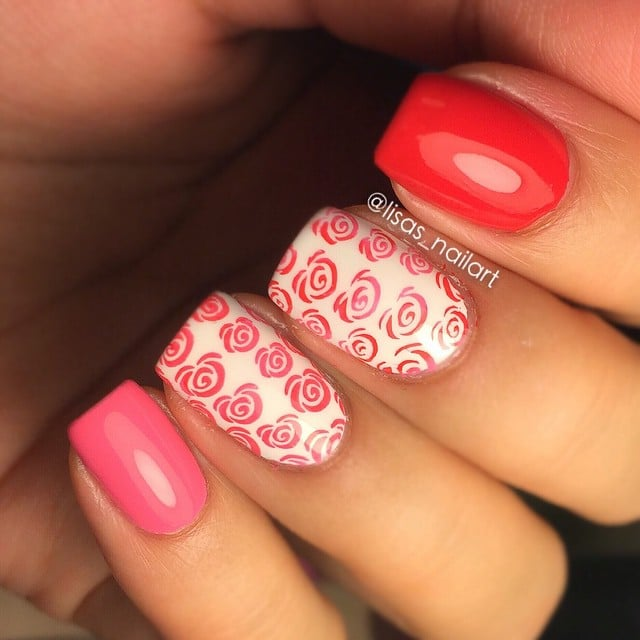 Pretty Valentine\'s Day Nail Art Inspiration From Instagram ...
