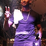 Usher took the stage to perform at the Converse party during SXSW.