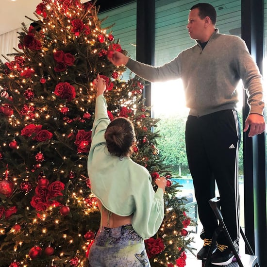Jennifer Lopez and Alex Rodriguez Holiday Pictures 2018