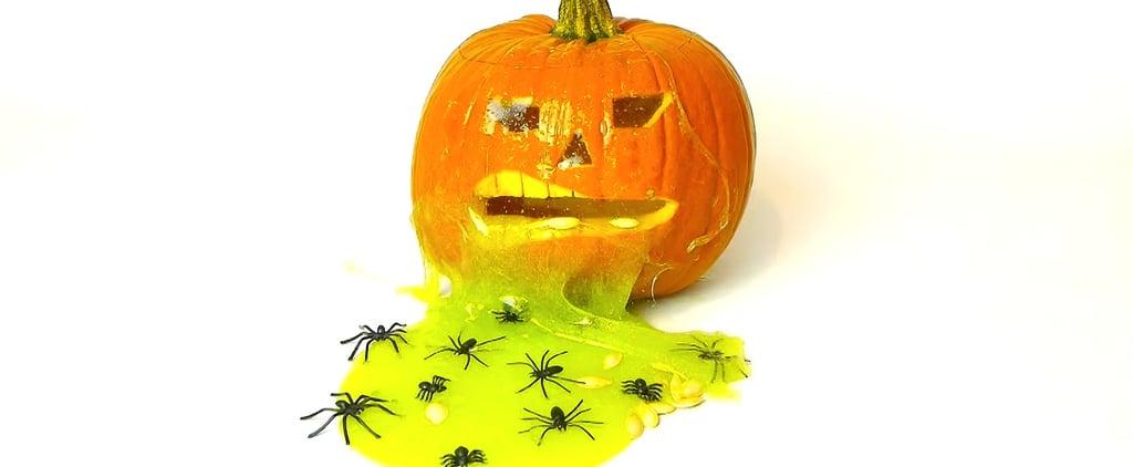 Halloween Hack! This Easy Glitter Slime DIY Will Make You Feel Like a Kid Again
