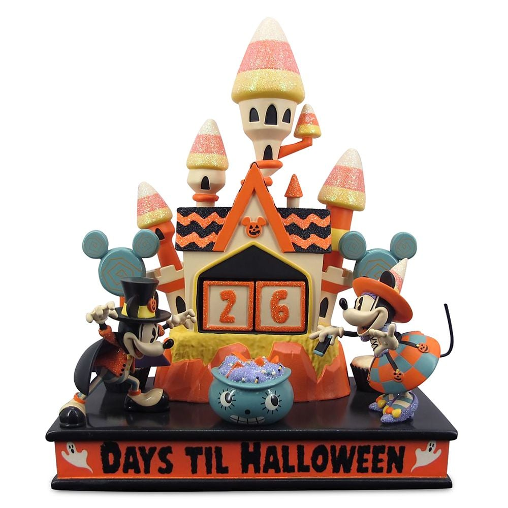 ShopDisney's Mickey and Minnie Mouse Halloween Countdown Calendar