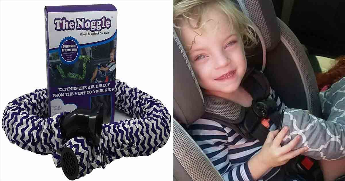 Afraid of Your Kid's Carseat Overheating? Try This Nozzle For the A/C Vent!