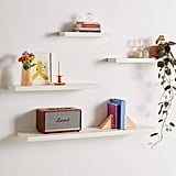 Simple Floating Wood Wall Shelf