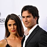 """Nikki shared a sweet picture of her and Ian kissing for their second wedding anniversary in April 2017. """"My guy, my man, my honey, my partner in this life, my better half in every way,"""" she wrote. """"At exactly this time two years ago today we walked hand in hand into the next chapter, our chapter, together. Every day gets better, every moment calling for even more. Navigating the waters of life with you is the greatest and most rewarding adventure I've ever known. We climb, we grow, and we laugh at all of it. Thank you for being exactly who you are, and for loving all of me. Thank you for your willingness to go even deeper. Until you, I had no idea what could be. Until you . . . Happy Anniversary ❤."""""""