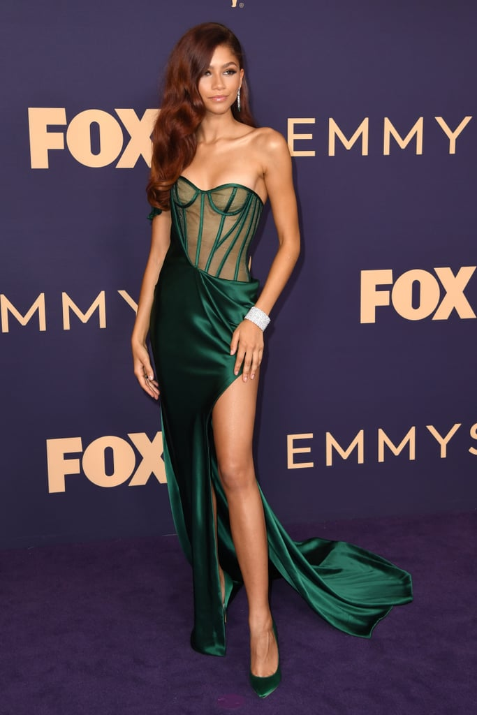 Zendaya at the 2019 Emmy Awards