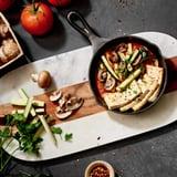 Marinara Tofu Bake With Zucchini and Mushrooms