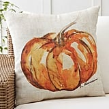 Pottery Barn Painted Pumpkin Patch Pillow