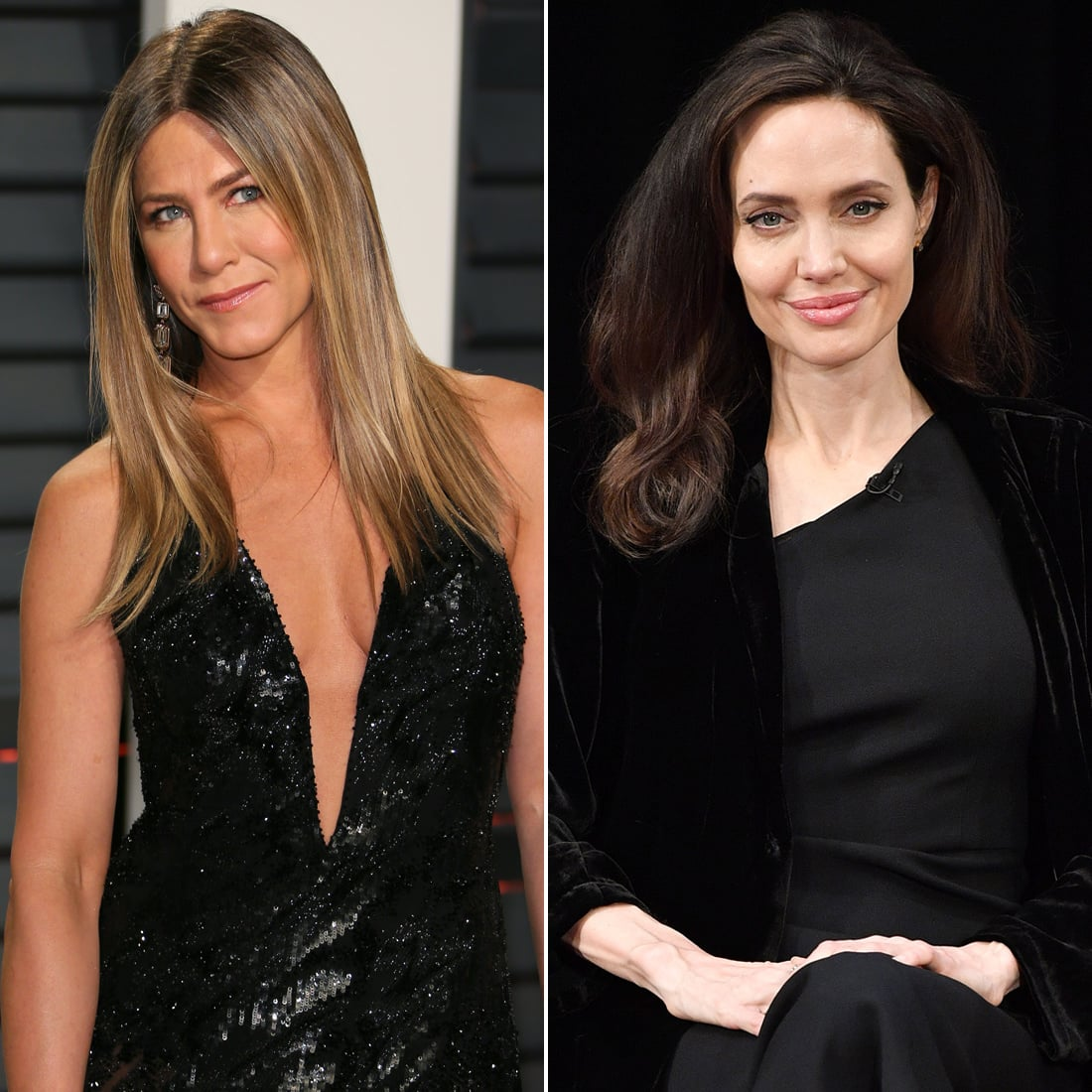 Jolie and Aniston will meet for the first time in a long time at one event