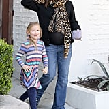 Jennifer Garner shopped in LA Friday with daughter Violet.
