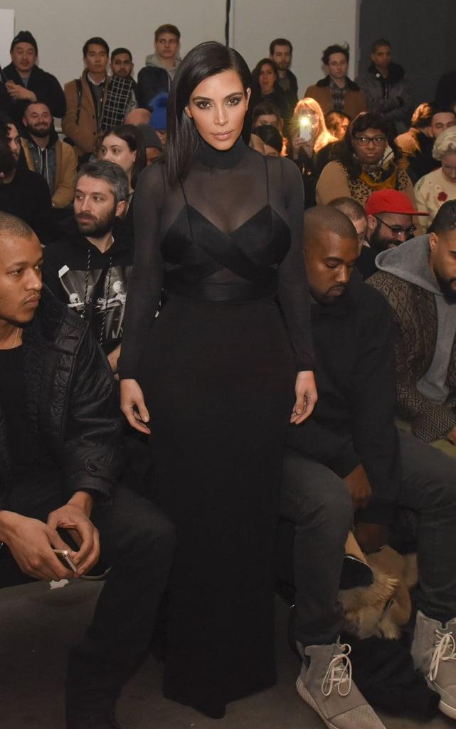 Kim Kardashian at NYFW