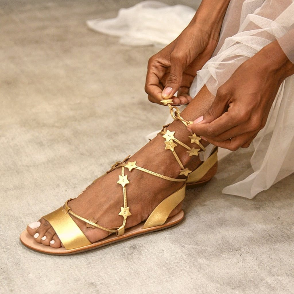 Loeffler Randall Starla Ankle Wrap Sandals