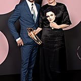 Dominic Cooper and Olivia Colman