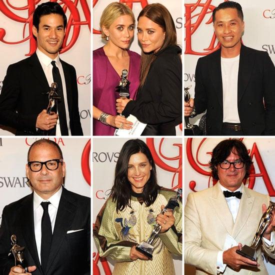 CFDA 2012 Winners