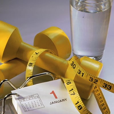 List of Fitness and Health New Year's Resolutions