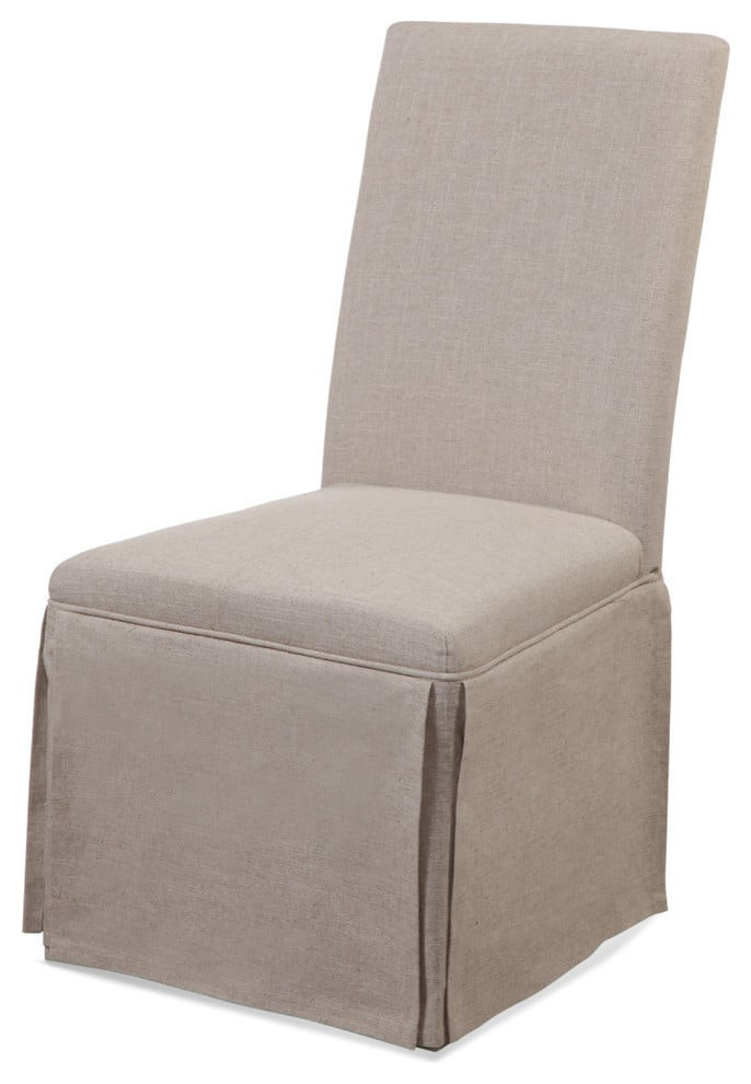 Madeline: Skirted Parsons Chairs