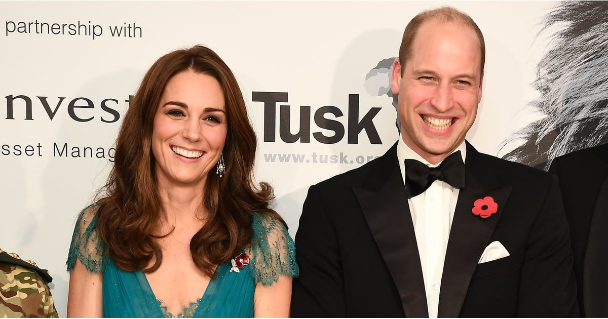 William Supports a Cause Close to His and Diana's Heart During a Glamorous Night Out With Kate