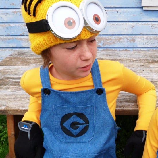 DIY Overalls Halloween Costumes For Kids