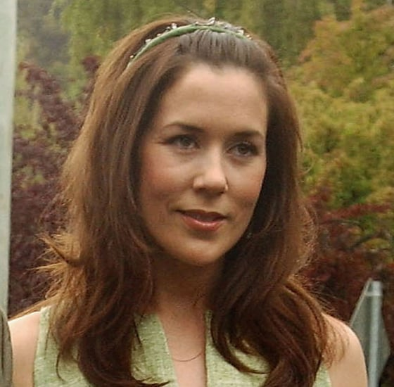 January 2004: At Her Sister's Wedding in Hobart