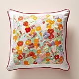 Paule Marrot Embroidered Posies Pillow.