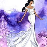 Disney's Jasmine Wedding Dress Design