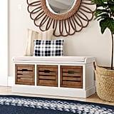 Sonderborg Upholstered Drawer Storage Bench