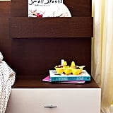 Bedframe With Extended Storage