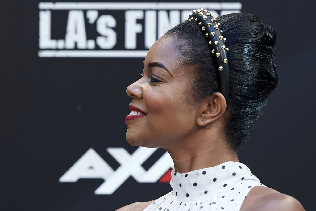Gabrielle Union's New Short Hair in an Updo