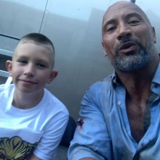 Boy Saves Brother From Drowning by Copying Dwayne Johnson