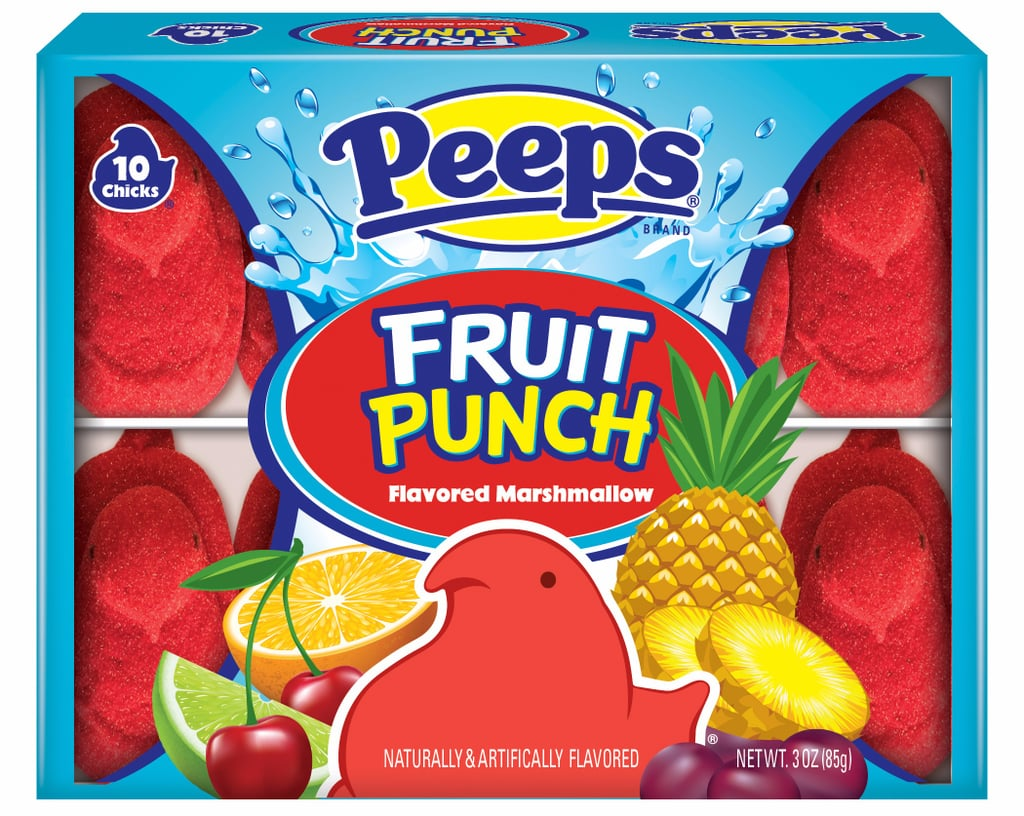 Peeps Releases a Ton of New Flavors For Spring, Including Fruit Punch