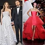 Jessica Biel's Giambattista Valli Haute Couture Wedding Dress, 2012