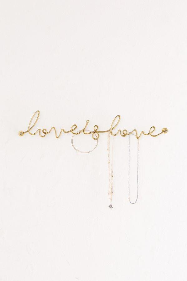 Love Is Love Wall Hook