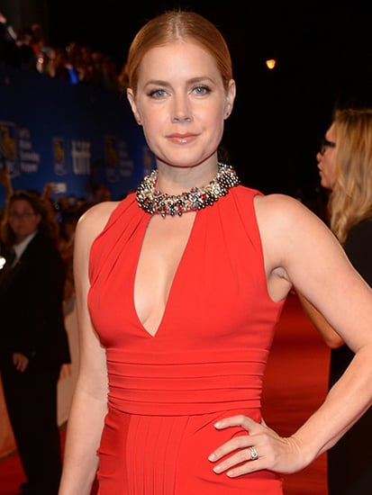 Amy Adams Stuns in Red Dress at Toronto Film Festival Premiere of Arrival