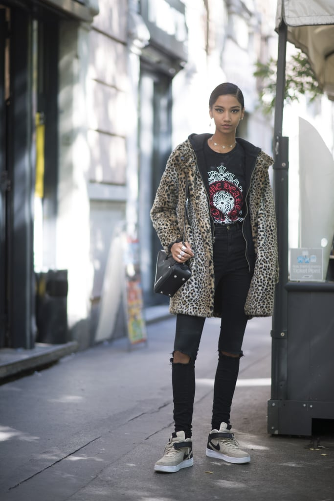 37fa342a89 Style Them With a Leopard-Print Jacket