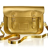 The Cambridge Satchel Company 11-Inch Satchel in Gold ($185)