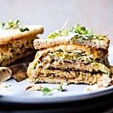 Healthier Tempeh Reuben Sandwich