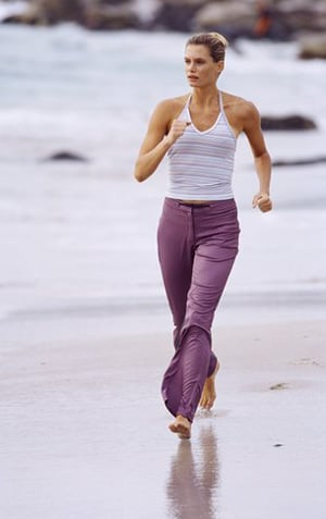 Fit Tip: Walk Barefoot in the Sand