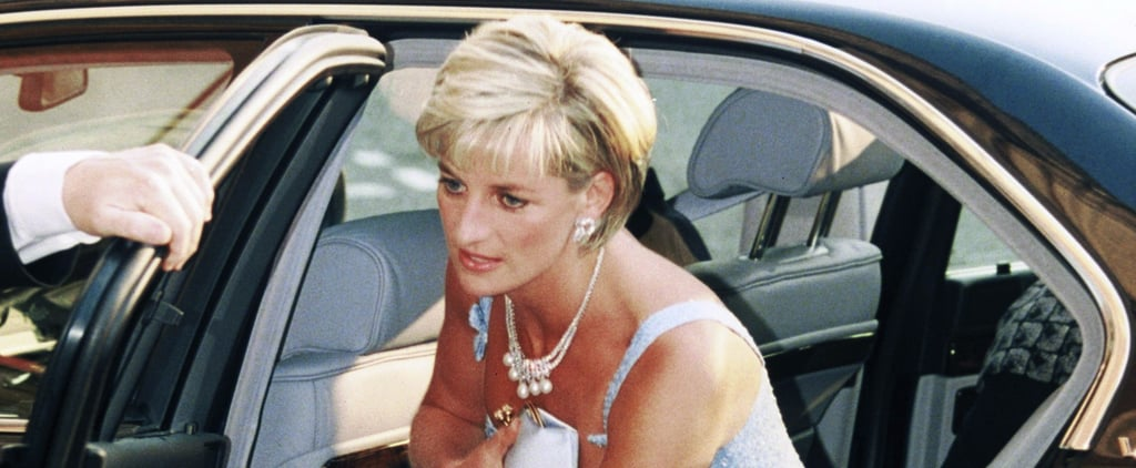 Princess Diana Wearing a Clutch