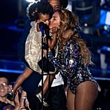 She and her mom shared a sweet moment on stage at the 2014 MTV VMAs.