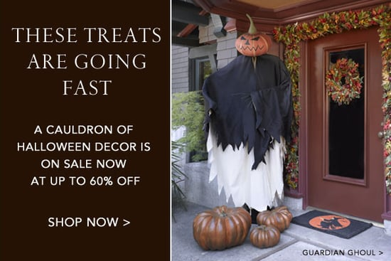 Sale Alert: Gump's Halloween Décor Sale