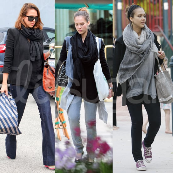Pictures of Jessica Alba's Pregnancy Style
