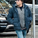 Bradley Cooper kept it casual in NYC on Sunday.