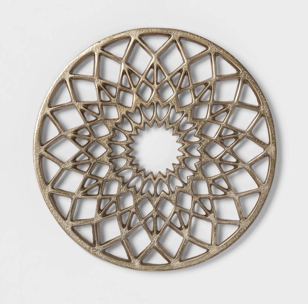 (New) Cravings by Chrissy Teigen Round Aluminum Trivet