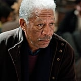 Morgan Freeman in The Dark Knight Rises.