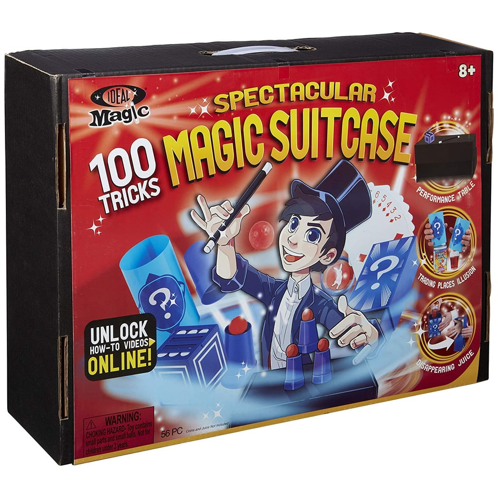 For 8-Year-Olds: Ideal Magic Spectacular Magic Suitcase