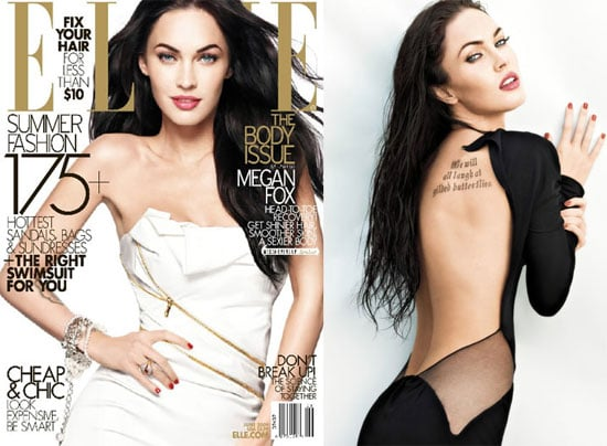 Megan Fox in Elle