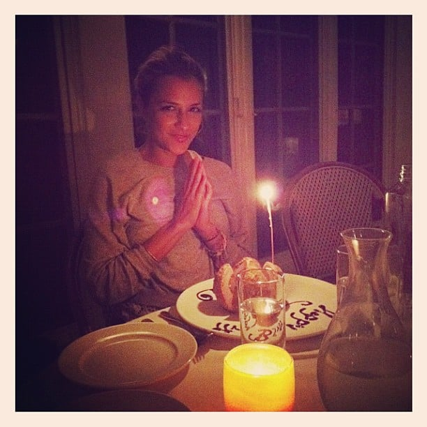 Charlotte Ronson made a birthday wish. Source: Instagram user cjronson