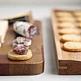 Make-Ahead Appetizer: Parmesan, Black Pepper, and Thyme Crackers