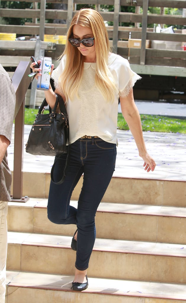 Lauren Conrad was out and about in LA.