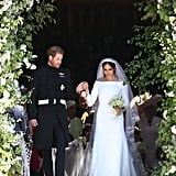 Harry and Meghan Leaving St. George's Chapel, 2018