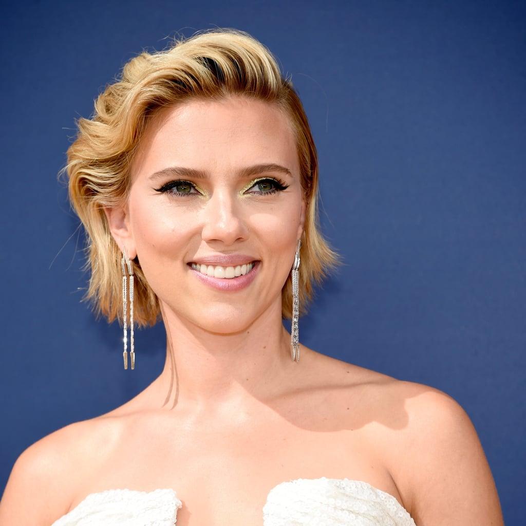 Scarlett Johansson's Blonde Hair at 2018 Emmys